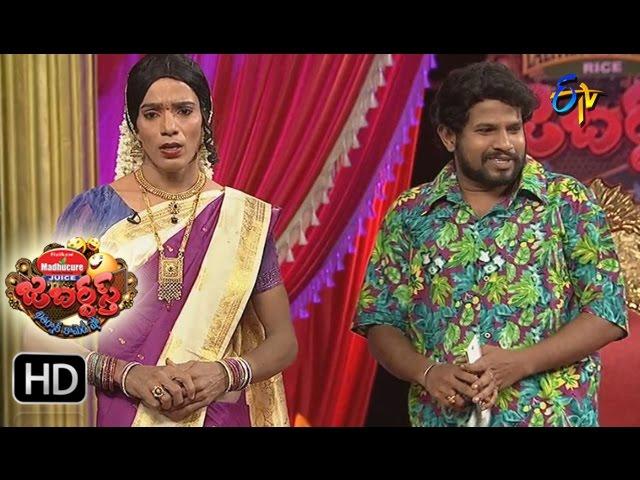 Jabardasth – Hyper Aadi Raising Raju Performance – 18th May 2017   ETV Telugu