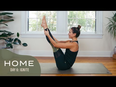 Home – Day 6 – Ignite | 30 Days of Yoga With Adriene
