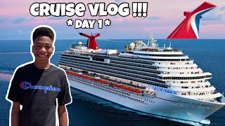 WE HAD THE MOST LIT SAIL AWAY PARTY EVER!!! Carnival Victory Vlog #1