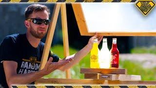 DON'T Burn GLASS Soda Bottles!