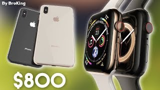 Leaks Confirm EVEN THINNER Bezels & $799 iPhone Xs?