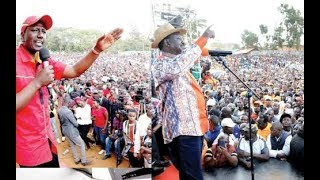New frontline for Raila-Ruto feud, just after Kibra By-election
