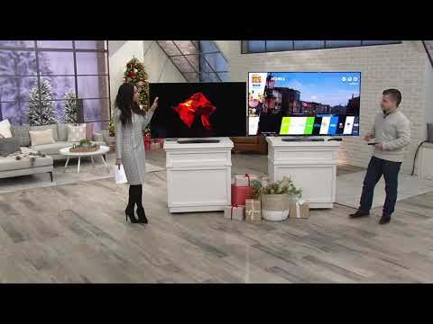 "LG 55""/65"" OLED 4K Ultra HD Smart TV with App Pack on QVC"