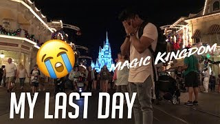 MY LAST DAY | DISNEY WORLD MAGIC KINGDOM