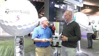 TaylorMade TP5X and TP5 Golf Balls at the 2017 PGA Show