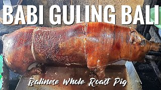 PROSES PENGOLAHAN BABI GULING DI BALI - Making Of Balinese Whole Roasted Pig