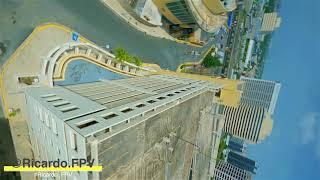 Freestyle FPV - Primer día de vuelo del Nazgul 5 con una GoPro(8) Choliseo de PR #Ricardo_FPV