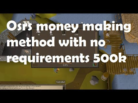 OSRS Gold Guide - 500k-600k Per Hour - Temple Trekking