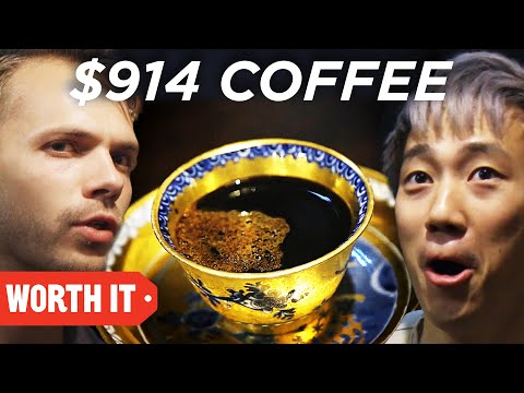 $1 Coffee Vs. $914 Coffee • Japan