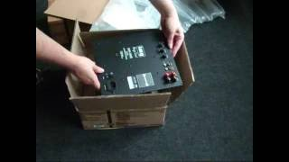Subwoofer / Lautsprecher auspacken - Loudspeaker Unboxing & First Impressions (English subs)