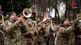 Хмельницькій ракетній бригаді вручили почесний прапор частини