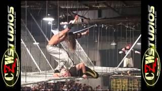 CZW Cage of Death 5: Hi-V vs. Team Ultraviolence (CZWstudios.com)