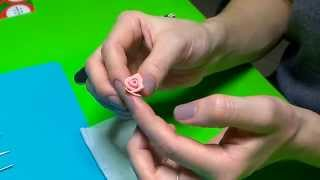Розочки из полимерной глины. Мастер-класс !!!