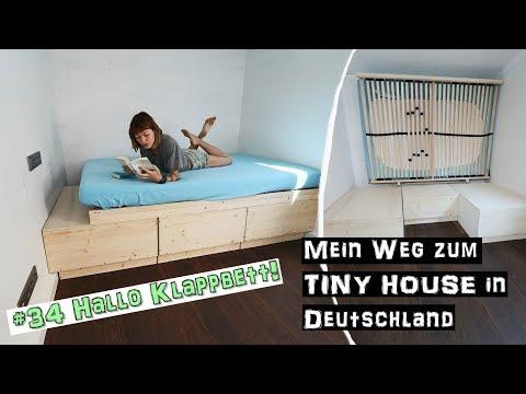 So Funktioniert Mein Klappbett  ♦ Mein Weg zum TINY HOUSE in Deutschland #34