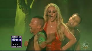 Britney Spears Toxic New Year's Rockin' Eve 2018 Dick Clark HD