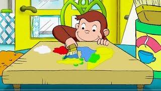 Curious George 🐵Color Me Monkey 🐵Kids Cartoon 🐵Kids Movies 🐵TV Show For Kidsdr
