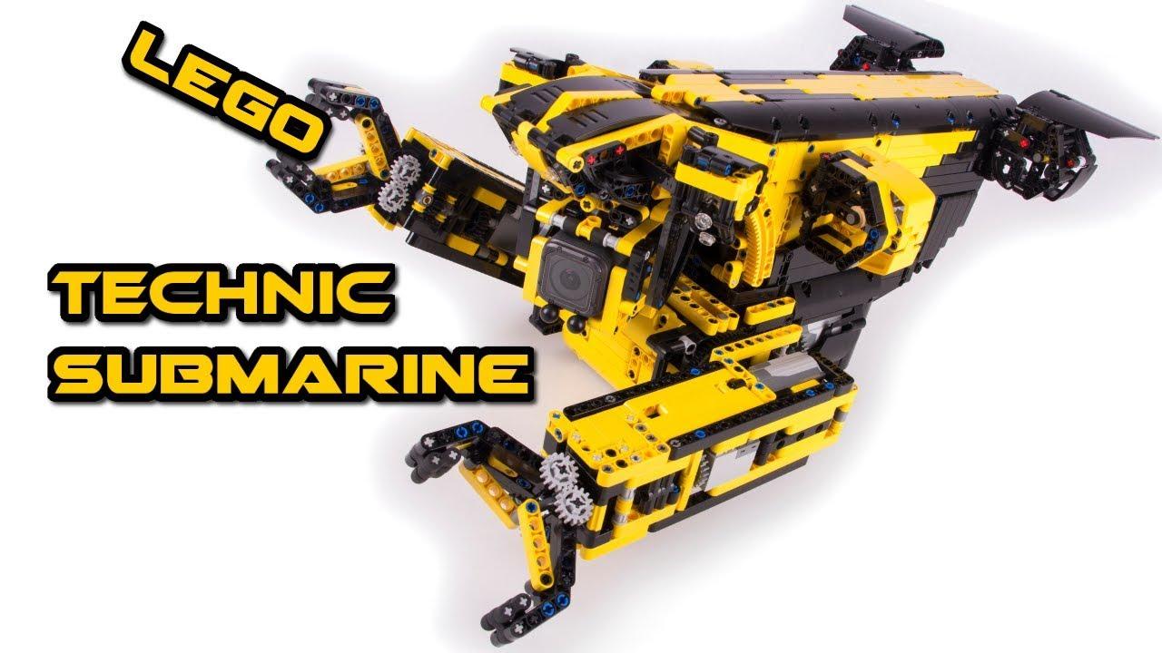 LEGO Technic Robot Submarine (ROV) MOC