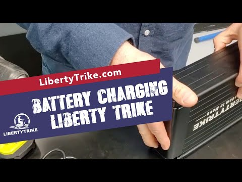 Liberty Trike | Blinking Green Charger
