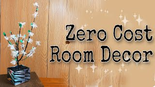 Zero Cost Room Decor | Amazing Tree Branches DIY | #diy #trashtotreasure #bestoutofwaste