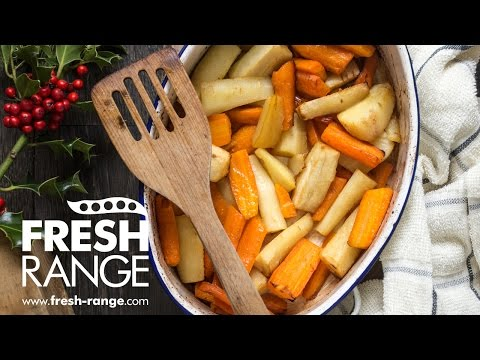 Honey Roast Carrots and Parsnips