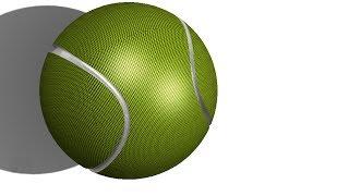 SolidWorks Tutorial #163: Tennis Ball
