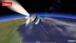 Реконструкция первого полёта Гагарина в 3D