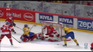 Česko - Švédsko 4_3 Čtvrtfinále MS V Hokeji 2012
