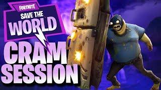 "NEW! ""CRAM SESSION"" MINI EVENT | Fortnite Save The World (PVE v6.0)"