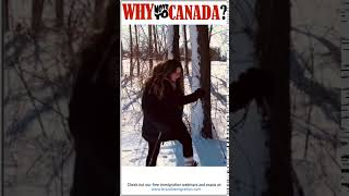 Why Canada? Snowshoe Hike
