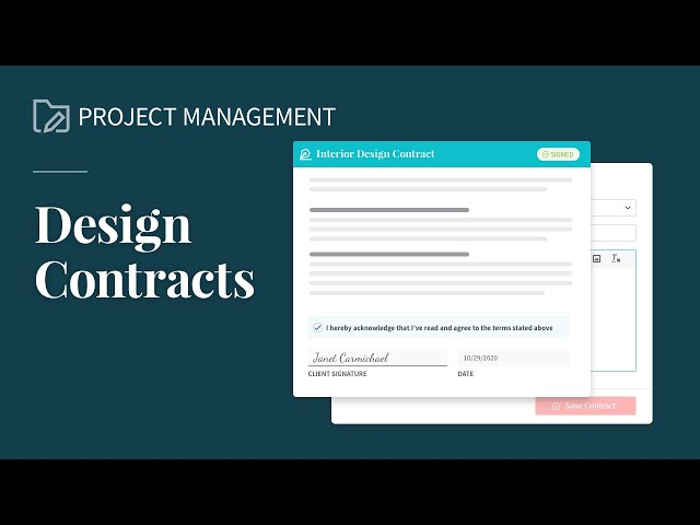 Submitting Contracts for Signature