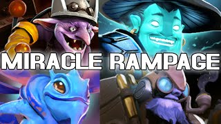 Gambar cover Miracle- 9k MMR God UNREAL Rampage Compilation Dota 2