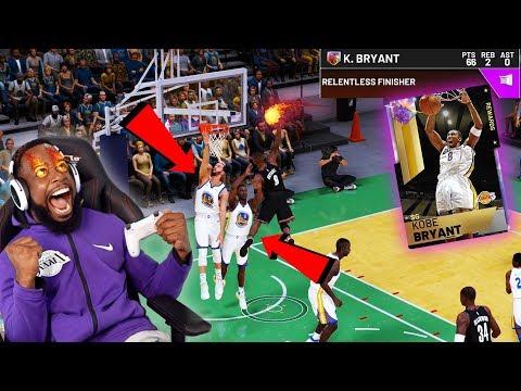 OPAL 99 LIMITED KOBE DUNKS ON 2 PEOPLE FROM FREETHROW LINE! NBA 2K19