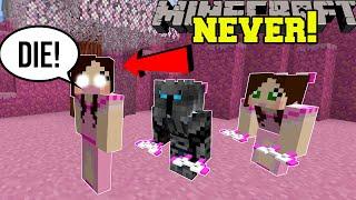 Minecraft: NEVER STEAL EVIL JEN'S BOW! - JEN'S SECRET RICHES - Custom Map