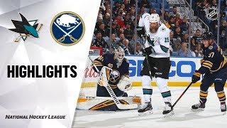 Sharks @ Sabres 10/22/19 Highlights