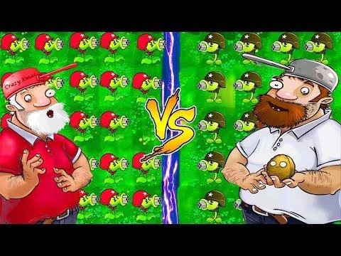 Plants vs Zombies Mod: PeaShooter PvZ 2 PC vs Gatling Pea