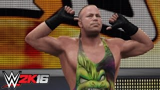WWE 2K16 PC Mod: Rob Van Dam (All Updated Graphics)