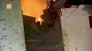 Brandweer hele nacht bezig met brand woning Mijdrecht