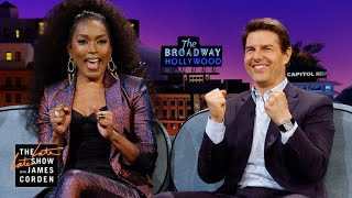 Angela Bassett & James Know About Tom Cruise's Cakes