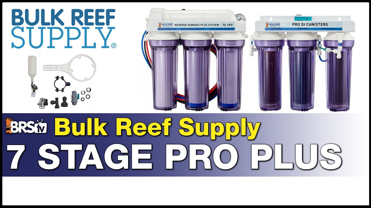 BRS 7-Stage Pro Plus RODI System: Stop worrying what's in your water. This has you covered!