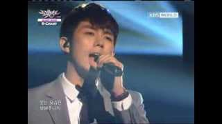 [Music Bank K-Chart] 2AM - I Wonder If You Hurt Like Me (2012.03.16)