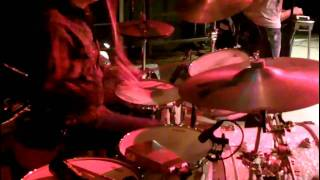 Brian Ferguson drumming live with Aaron Watson