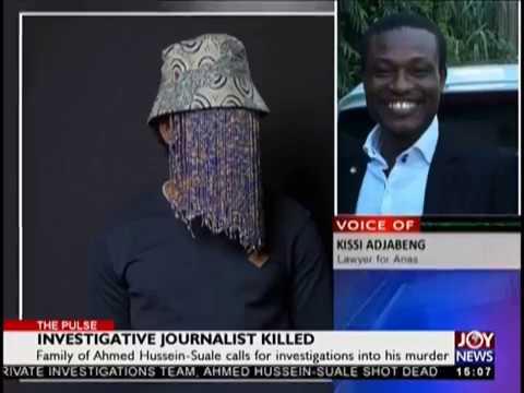 Investigative Journalist Killed - The Pulse on JoyNews (17-1-19)