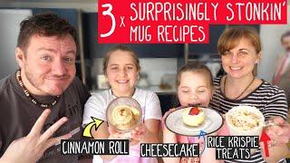 3 Surprisingly Awesome Mug Dessert Recipes!