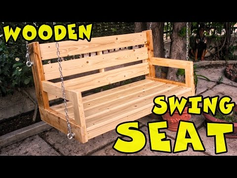 Wooden swing seat - Dondolo in legno