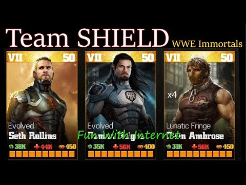 WWE Immortals: The SHIELD (iOS/Android) Gameplay