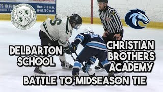 CBA 2 Delbarton 2 | Gordon Conference Foes Battle To Midseason Tie