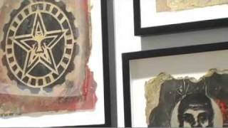 The Big Picture / Shepard Fairey Discusses Stencil Artwork / Subliminal Projects