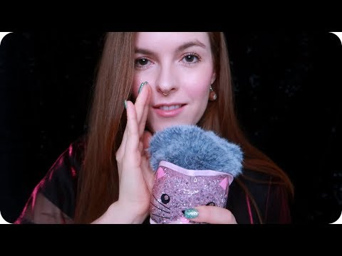 ASMR Gentle Mouth Sounds and Inaudible Whispering ❤️