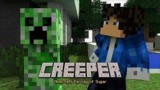 "🎹 ""CREEPER"" - MINECRAFT PARODY OF ""SUGAR"" BY MAROON 5 - ANIMATED MINECRAFT MUSIC VIDEO ♫"