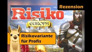 Risiko Europa (Brettspiel) / Anleitung & Rezension / SpieLama